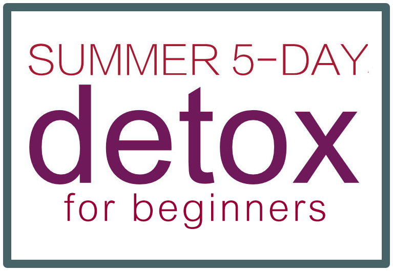 Summer 5 day detox plan.  https://www.wocdetox.com/summer-5-day-detox.html