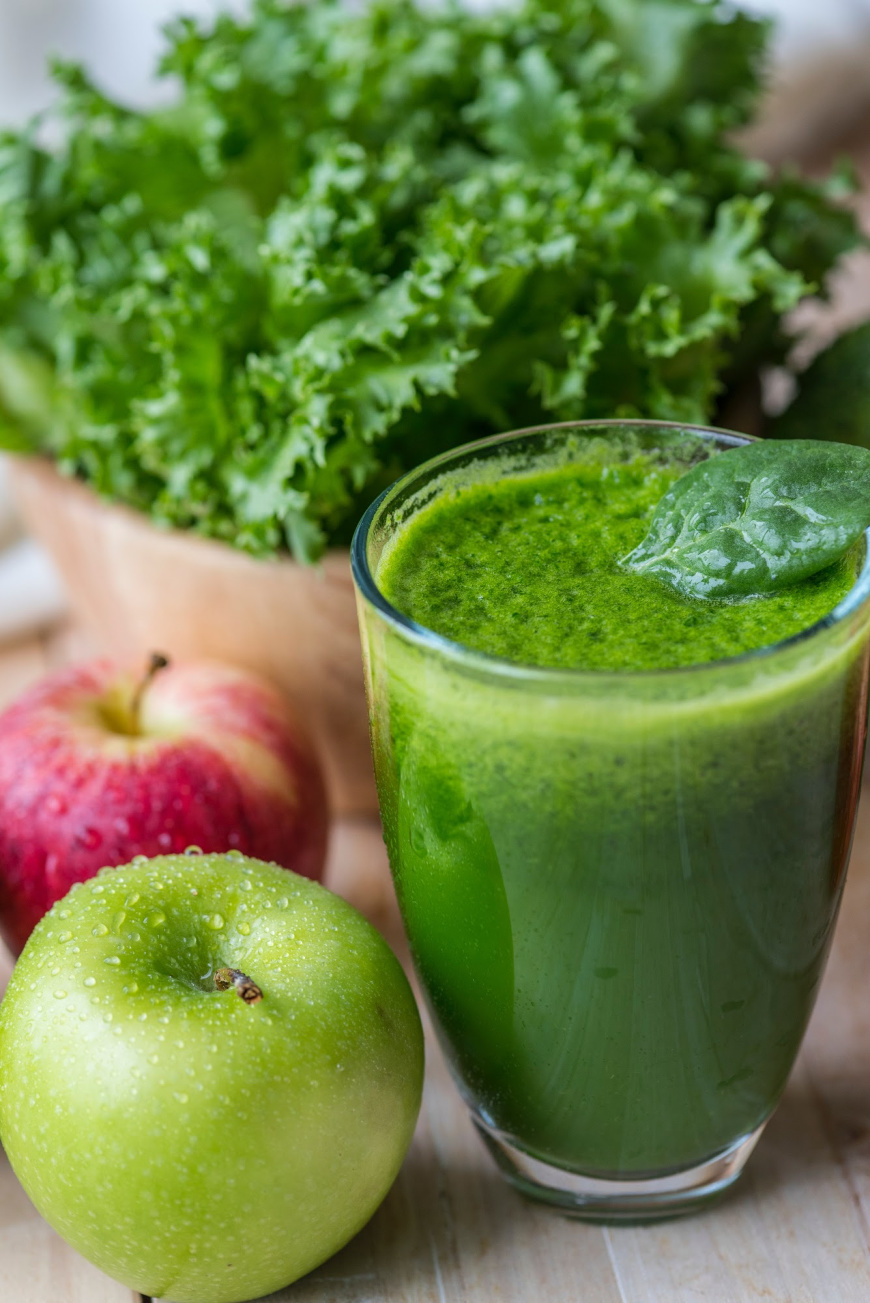 Green Juice.  https://www.wocdetox.com/detox-drinks.html