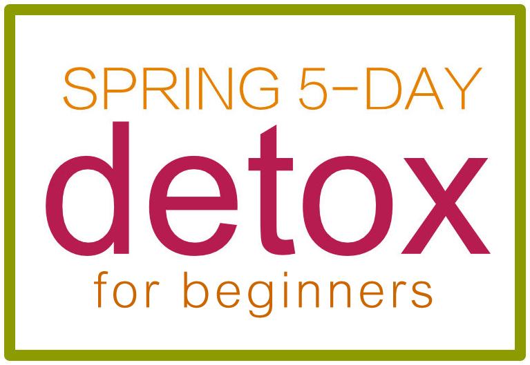 Spring detox logo. https://www.wocdetox.com/5-day-body-detox-plan.html